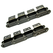 Double Pitch Roller Chains with Attachments(A1/A2-type Attachments)